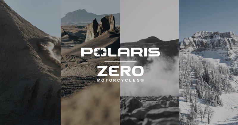 Collaborazione tra Polaris e Zero Motorcycle