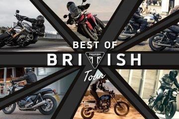 Triumph test ride 2021